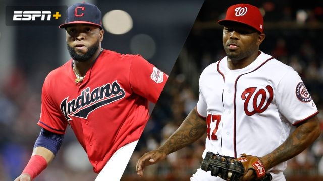 Cleveland Indians vs. Washington Nationals