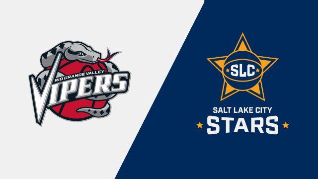 Rio Grande Valley Vipers vs. Salt Lake City Stars