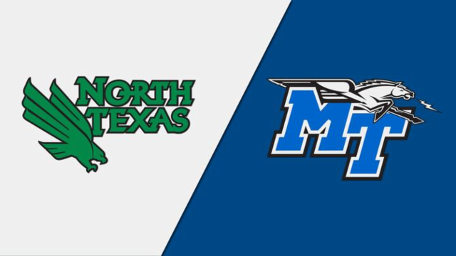 Watch UNT @ MTSU