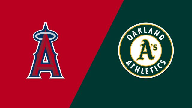 Los Angeles Angels vs. Oakland Athletics