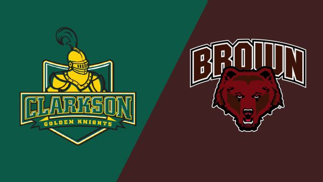 #15 Clarkson vs. Brown (M Hockey)