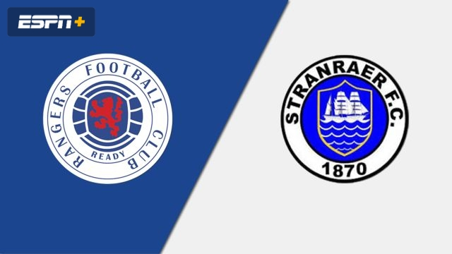 Rangers vs. Stranraer (Scottish Cup)