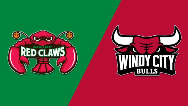 Maine Red Claws vs. Windy City Bulls