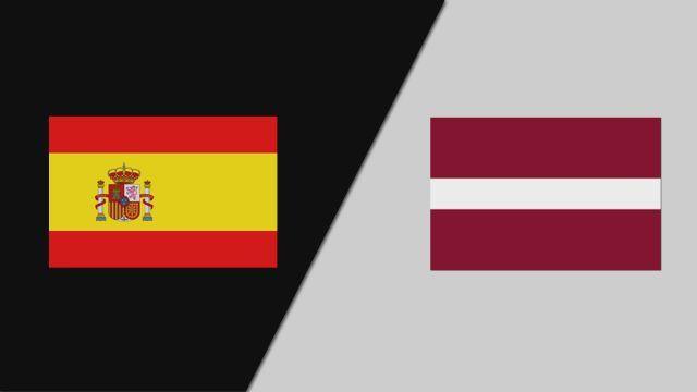 Spain vs. Latvia (FIBA World Cup Qualifier)