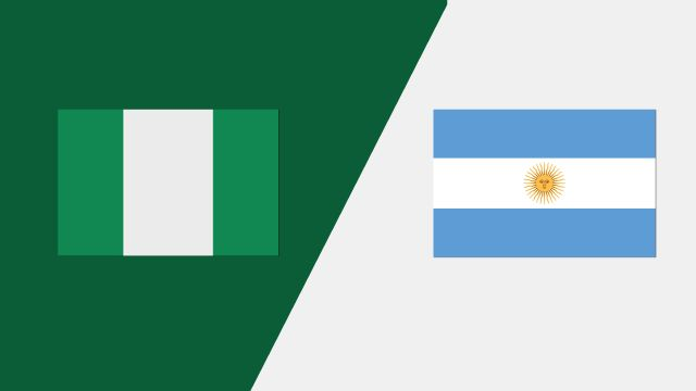 Nigéria vs. Argentina (Group Phase)