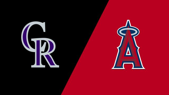 Colorado Rockies vs. Los Angeles Angels