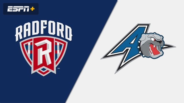 Radford vs. UNC Asheville (M Basketball)
