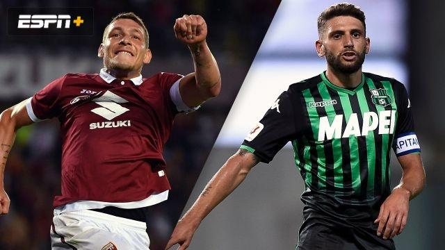 Torino vs. Sassuolo (Serie A)
