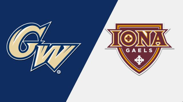 George Washington vs. Iona (W Basketball)