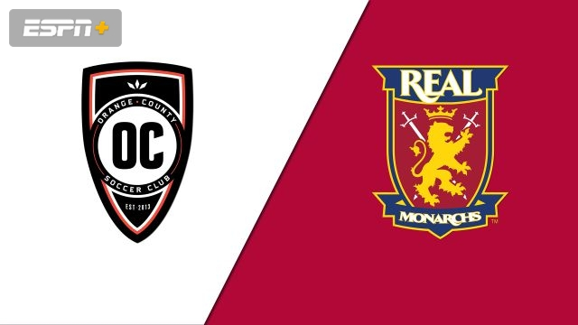 Orange County SC vs. Real Monarchs SLC (USL Championship)