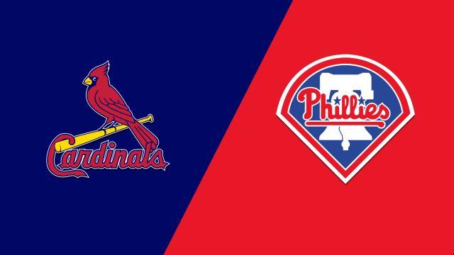 St. Louis Cardinals vs. Philadelphia Phillies
