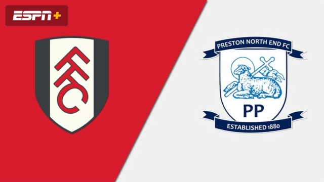 Fulham vs. Preston North End (English League Championship)