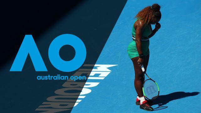 Wed, 1/23 - Australian Open Highlight Show