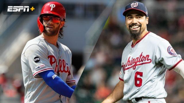 Philadelphia Phillies vs. Washington Nationals
