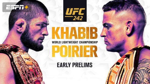 In Spanish - UFC 242: Khabib vs. Poirier (Early Prelims)