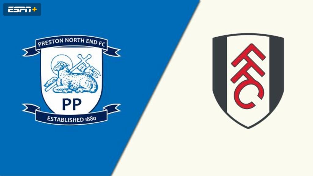 Preston North End vs. Fulham (English League Championship)