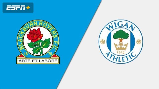 Blackburn Rovers vs. Wigan Athletic (English League Championship)