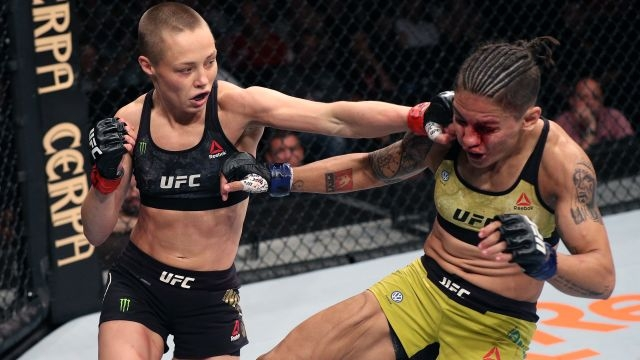 UFC 237: Namajunas vs. Andrade (Re-air) (Main Card)