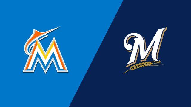 Miami Marlins vs. Milwaukee Brewers