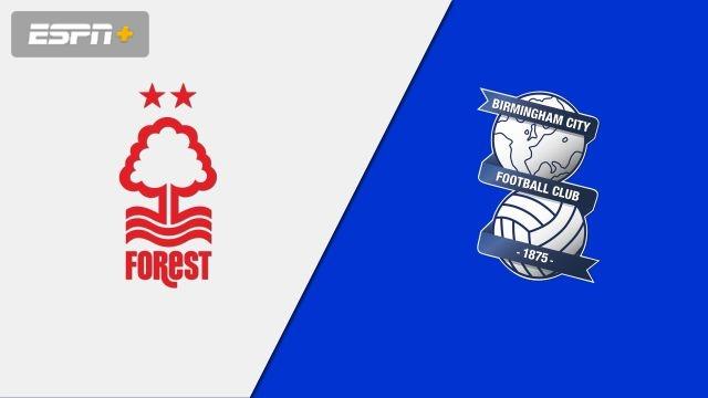 Nottingham Forest vs. Birmingham City (English League Championship)
