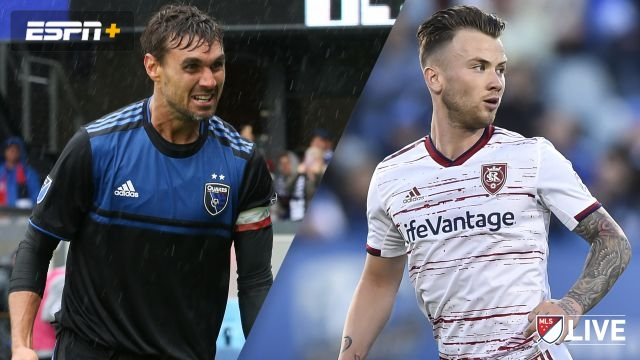 San Jose Earthquakes vs. Real Salt Lake (MLS)