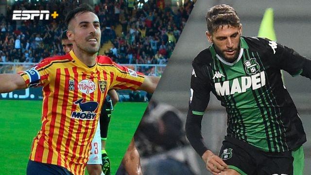 Lecce vs. Sassuolo (Serie A)