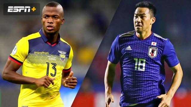 In Portuguese-Ecuador vs. Japan (Fase de Grupos) (Copa America)