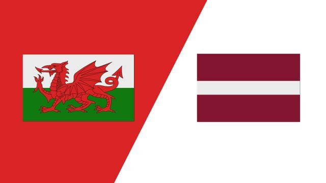 Wales vs. Latvia (2018 FIL World Lacrosse Championships)