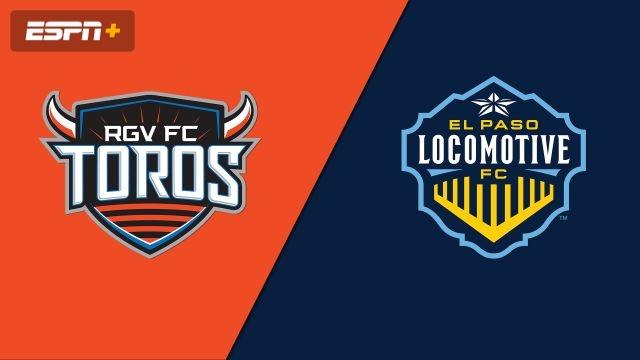 Rio Grande Valley FC Toros vs. El Paso Locomotive FC (USL Championship)