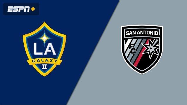 LA Galaxy II vs. San Antonio FC (USL Championship)