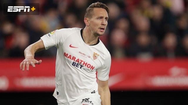 In Spanish-Mirandés vs. Sevilla (Copa del Rey)