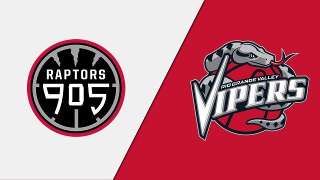 Raptors 905 vs. Rio Grande Valley Vipers