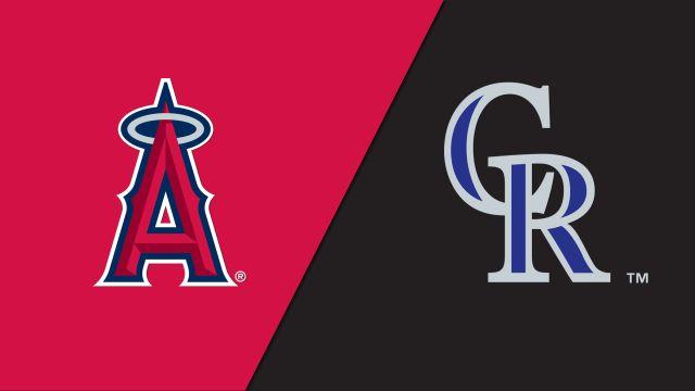 Los Angeles Angels vs. Colorado Rockies