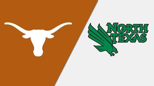 #11 Texas vs. North Texas (W Basketball)
