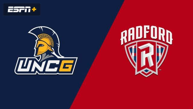UNC Greensboro vs. Radford (M Basketball)