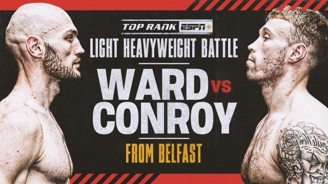 Steven Ward vs. Liam Conroy