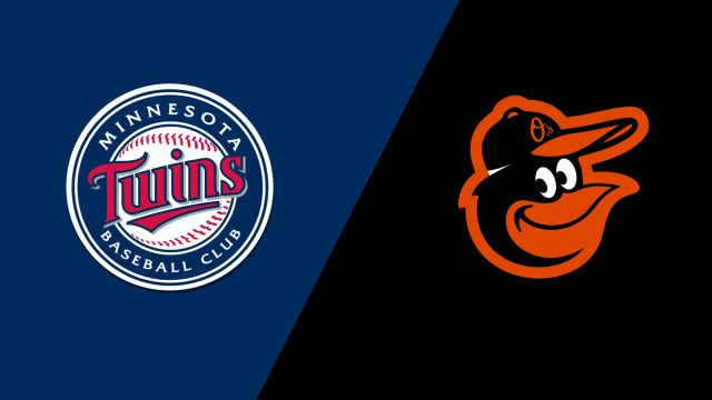 Minnesota Twins vs. Baltimore Orioles