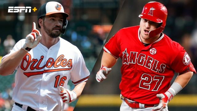 Baltimore Orioles vs. Los Angeles Angels of Anaheim