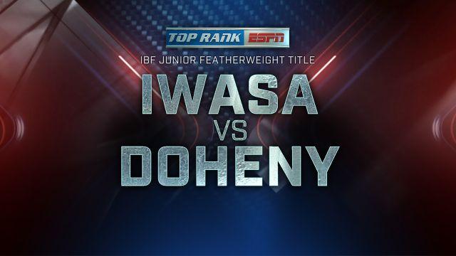 Ryosuke Iwasa vs. Terence Doheny
