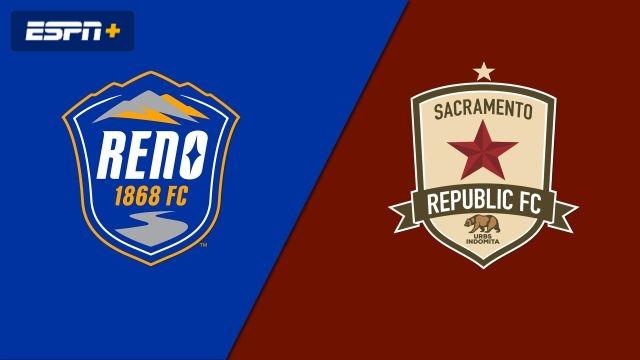 Reno 1868 FC vs. Sacramento Republic FC (USL Championship)