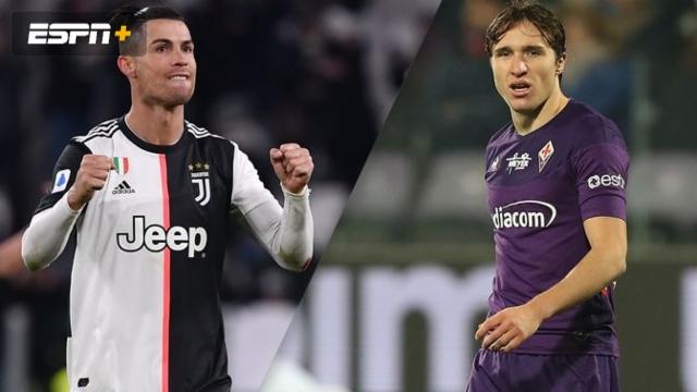 In Spanish - Juventus vs. Fiorentina (Serie A)