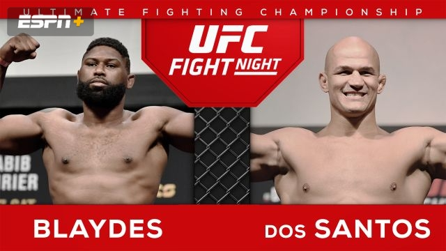 UFC Fight Night Pre-Show: Blaydes vs. Dos Santos