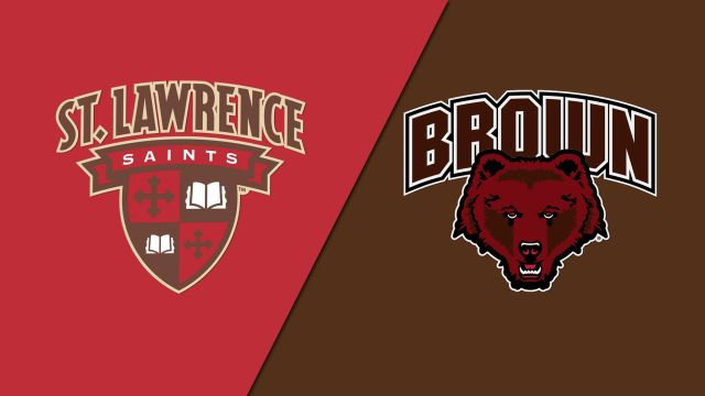 #9 St. Lawrence vs. Brown (W Hockey)
