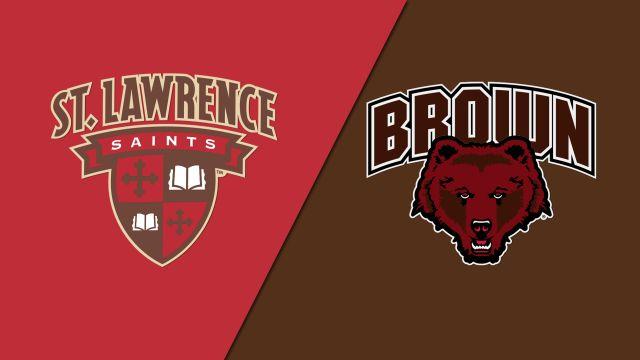 #9 St. Lawrence vs. Brown (W Hockey)