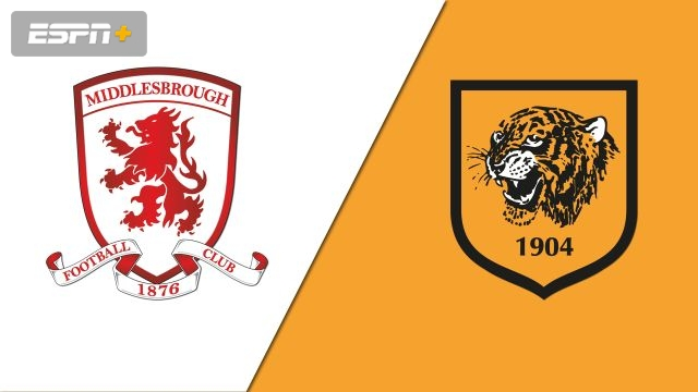 Middlesbrough vs. Hull City (English League Championship)