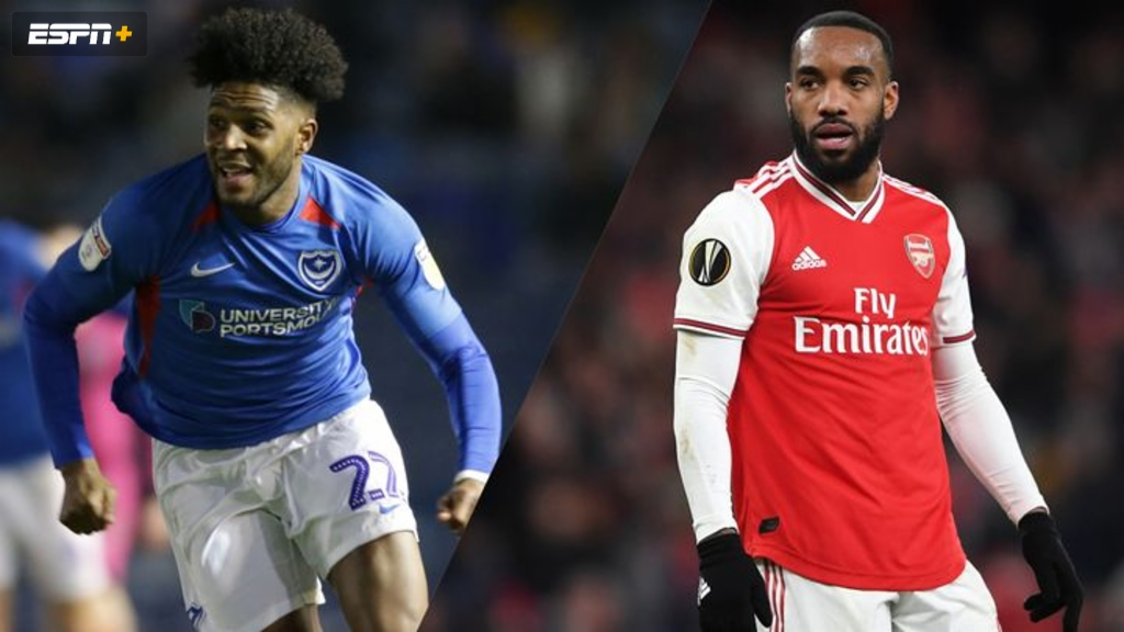 In Spanish-Portsmouth vs. Arsenal (5th Round) (FA Cup)