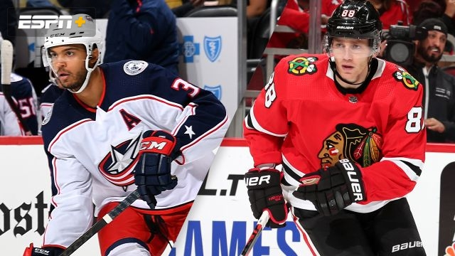 Columbus Blue Jackets vs. Chicago Blackhawks