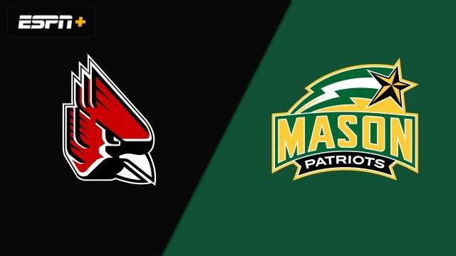 Ball State vs. #12 George Mason (M Volleyball)
