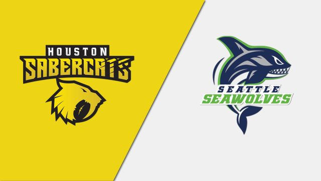Houston SaberCats vs. Seattle Seawolves (Major League Rugby)