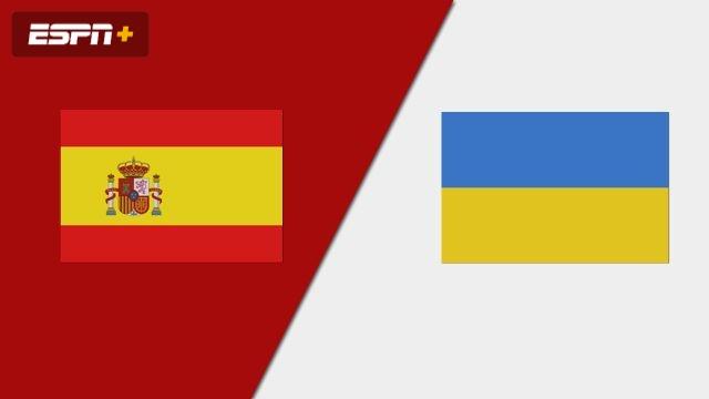 Spain vs. Ukraine (Group Phase) (FIBA Women's EuroBasket 2019)